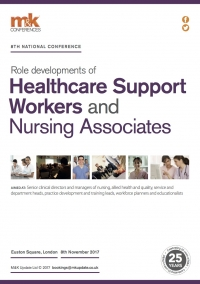 Conference - Role developments of Healthcare Support Workers and Nursing Associates
